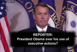 Boehner's worried about 'frivolous lawsuits?'