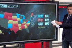 Steve Kornacki's Senate 'what if' scenario