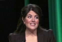 Monica Lewinsky back in the public eye