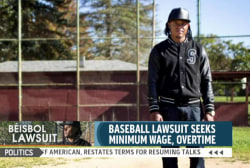 Lawsuit challenges how MLB pays its players