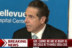 NY 'as ready as one could be': Governor