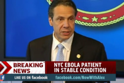 Cuomo: Increased Ebola screening for New York