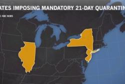 Report: WH pushes against NJ & NY quarantine