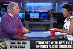 How Henry Winkler is inspiring dyslexic youth