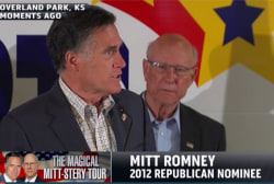 Can Romney help Kansas senator keep his seat?