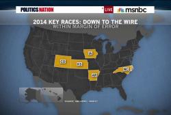 Senate races come down to the wire