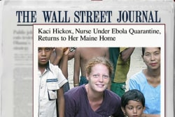 Nurse quarantined in New Jersey returns home