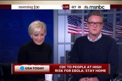 Joe: Liberals OK with Christie Ebola move