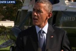 President Obama speaks on Ebola crisis