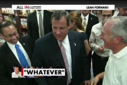 Christie on quarantine lawsuit: 'Whatever'