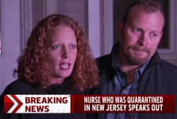 Nurse who was quarantined in NJ speaks out