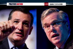 Ted Cruz takes a swing at Jeb Bush