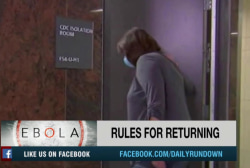 States take different approaches to Ebola