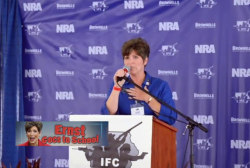 'Squealing' for Joni Ernst