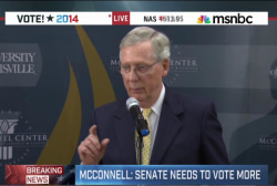 McConnell: Need Senate 'back to normal'
