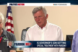 Governor pardons his son for drug crime