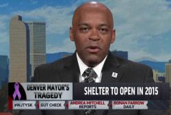 Denver mayor urges domestic violence...