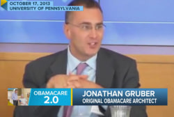 Obamacare: The Gruber effect