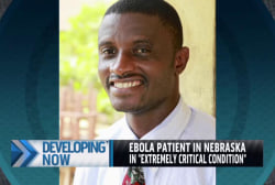 Latest US Ebola patient in critical condition