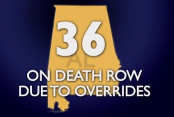 Alabama judge imposes execution
