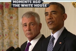 Questions surround Hagel's resignation