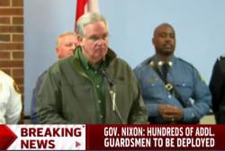 Gov. Nixon ramping up National Guard presence