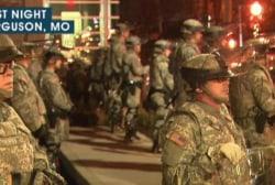 Ferguson, nation respond in protest