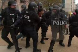 Ferguson strife becomes national symbol