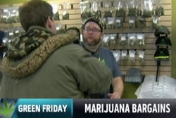 It's 'Green Friday' for marijuana sellers