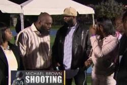 Brown, Martin families unite at prayer vigil