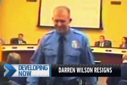 Darren Wilson resigns