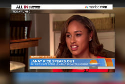 Janay Rice tells her side of the story