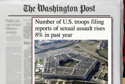 Increase in troop sex assault reports