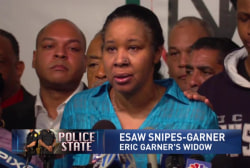 Garner widow will 'fight the fight to the...