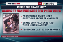 Were Garner grand jurors on their cell...
