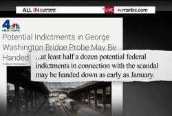 'Bridgegate' indictments in January?