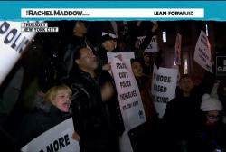 US cities roil with protest for third night