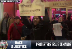 Protests continue over grand jury decisions