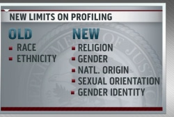 New limits on profiling revealed