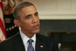 Obama talks Ferguson on BET