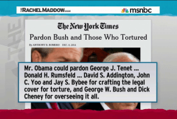ACLU: Pardon Bush officials for torture