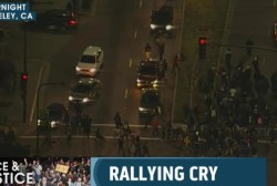 Protesters halt Berkeley traffic