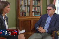 Rick Perry looks to put past behind him