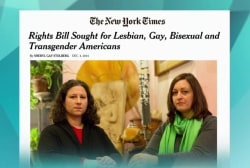 LGBT activists gear up the next battle
