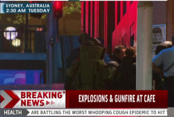 Explosions, gunfire at Sydney hostage site