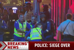 Ambulance on scene as Sydney siege ends