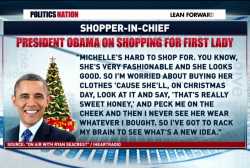 How do you shop for a first lady?
