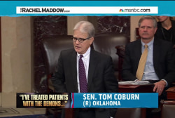 Coburn obstinate in blocking veterans bill