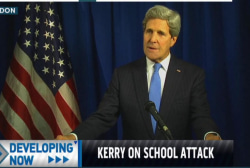 John Kerry condemns Pakistan school attack