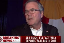 Jeb Bush makes 2016 announcement